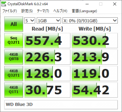 Blue 3D CDM 1GB